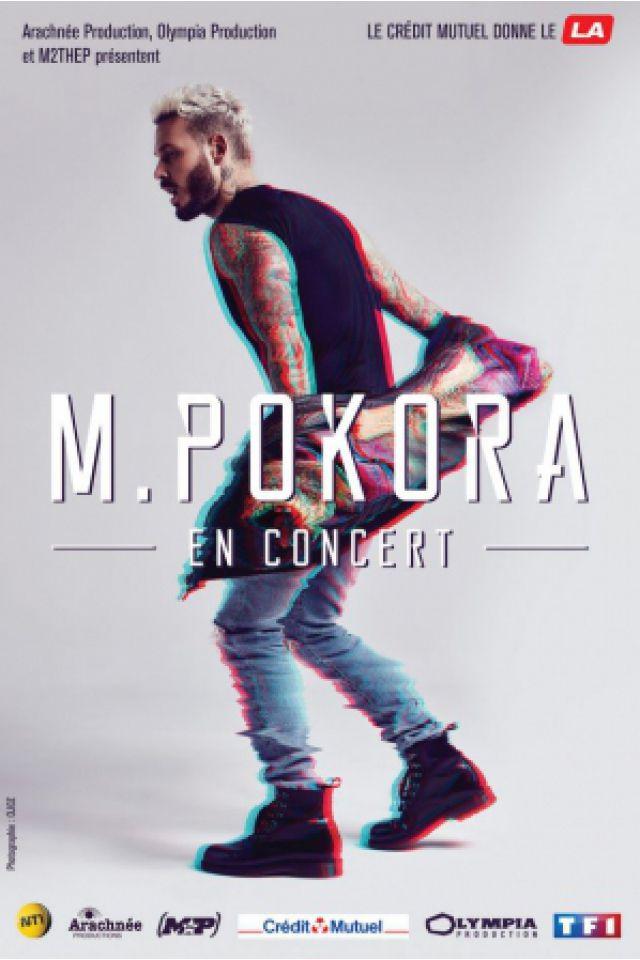 Concert M POKORA à DEOLS - CHATEAUROUX @ M.A.CH 36 - Billets & Places
