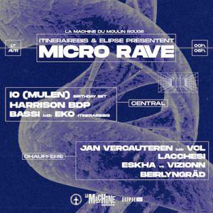 Itinéraire Bis X Elipse : Micro Rave