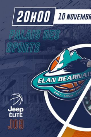 Match ELAN BEARNAIS / LE PORTEL à PAU @ Palais des Sports de Pau - Billets & Places