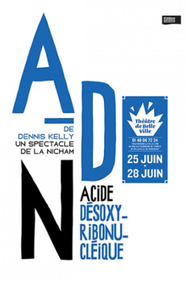 ADN / Nicham @ THEATRE DE BELLEVILLE - PARIS