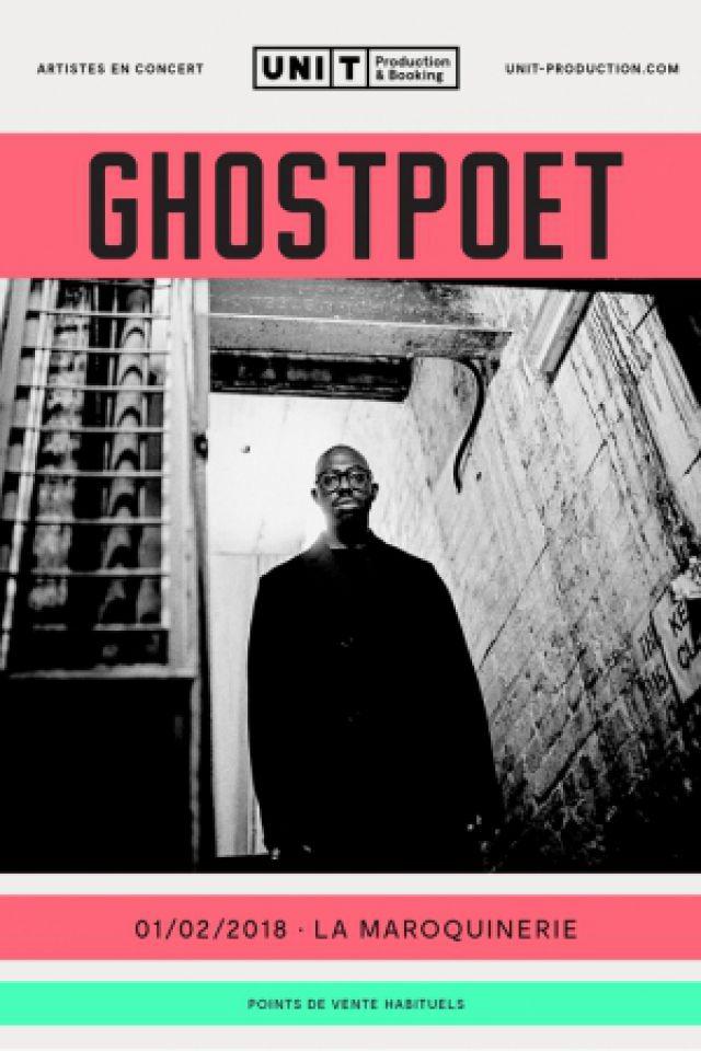 GHOSTPOET @ La Maroquinerie - PARIS