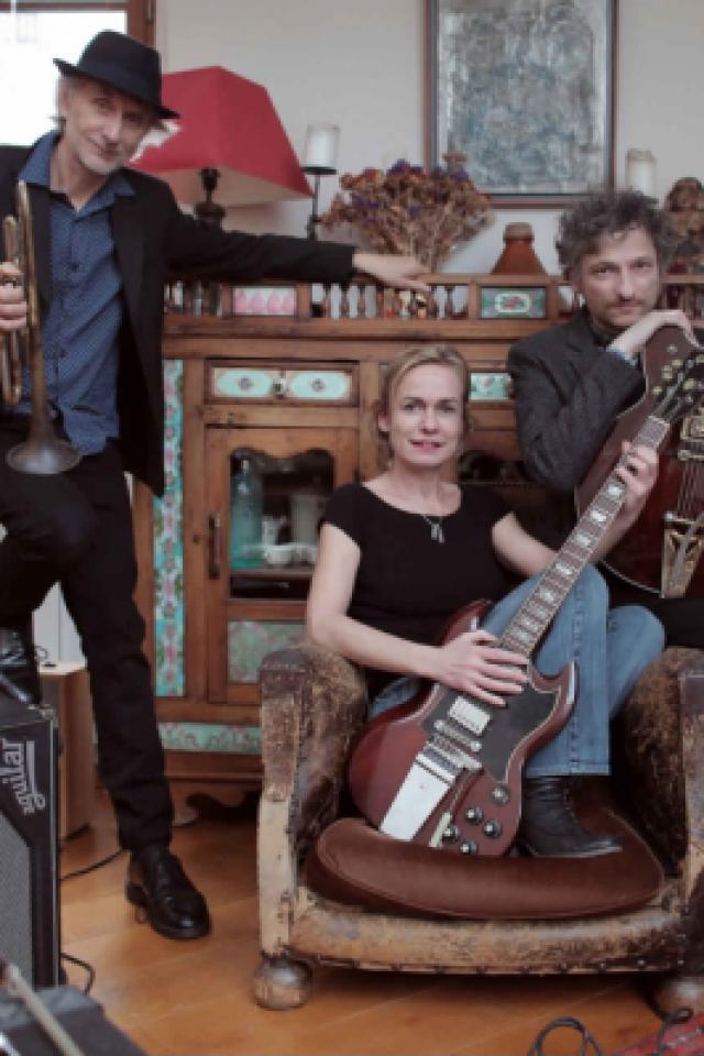 SANDRINE BONNAIRE - ERIK TRUFFAZ - MARCELLO GIULIANI @ LE ROCHER DE PALMER - CENON