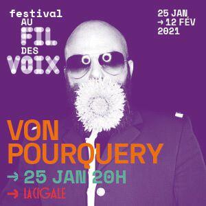 Von Pourquery - Festival Au Fil Des Voix