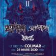 Concert BELPHEGOR + SUFFOCATION + HATE au Grillen à Colmar @ Le GRILLEN - Billets & Places