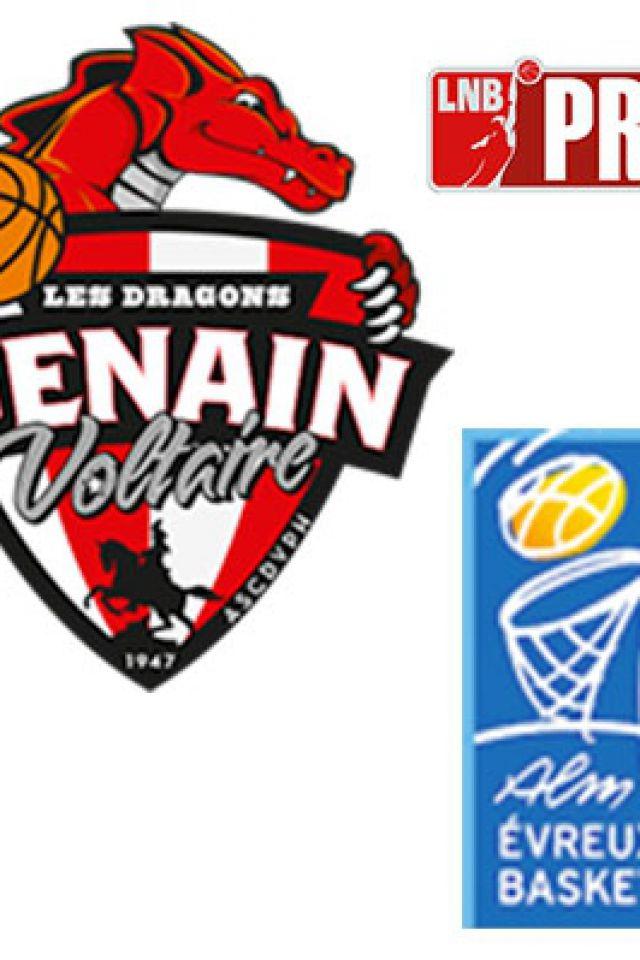 PRO B - VOLTAIRE VS EVREUX @ Complexe Sportif Jean Degros - DENAIN