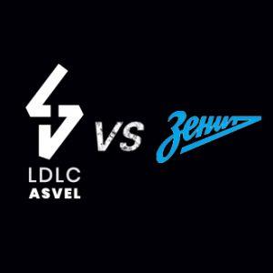 LDLC ASVEL / ZENIT ST-PETERSBOURG @ Astroballe - Villeurbanne