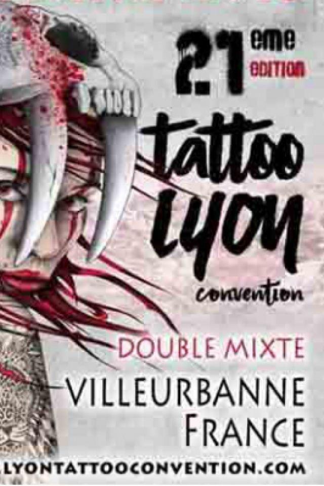 Lyon Tattoo Convention - PASS 2 JOURS @ DOUBLE MIXTE - VILLEURBANNE