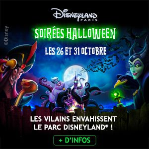 Soiree Halloween Disney - 31.10.2019