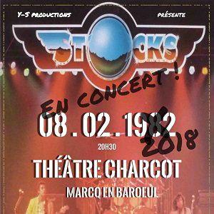 Stocks Destination 82 @ Théâtre Charcot - Marcq-en-Baroeul