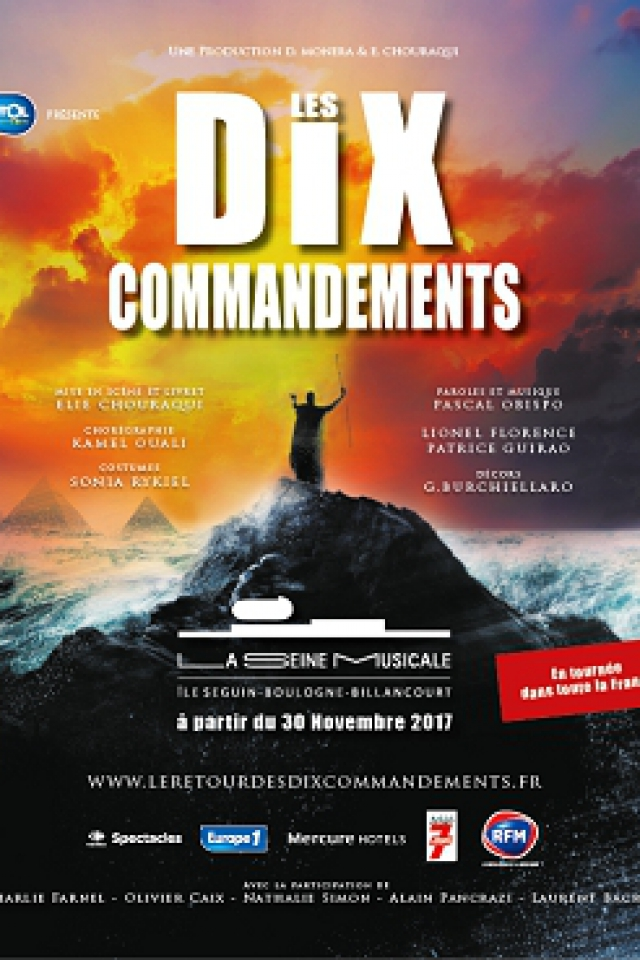 LES DIX COMMANDEMENTS @ Grande Seine - La Seine Musicale - BOULOGNE BILLANCOURT