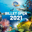 "BILLET ""OPEN 2021"" à Saint-Malo @ Grand Aquarium de Saint-Malo - Billets & Places"