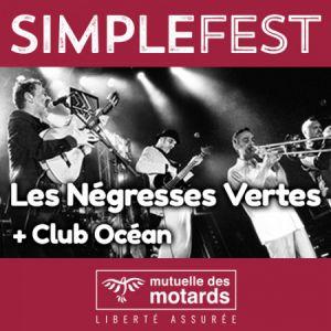Mutuelle Des Motards - Simple Fest: Negresses Vertes + Club Ocean