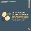 Concert LES GÉRARDS W/ ROBERT LE MAGNIFIQUE & LUKE VON WESTEN (CCC) à Paris @ Point Ephémère - Billets & Places