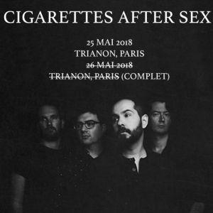 Cigarettes After Sex @ Le Trianon - Paris