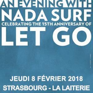 NADA SURF FETE LES 15 ANS DE LET GO @ La Laiterie - Grande Salle - Strasbourg