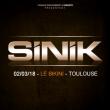 Concert SINIK, Guest à RAMONVILLE @ LE BIKINI - Billets & Places