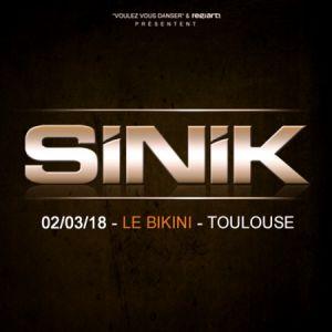 SINIK, Guest @ LE BIKINI - RAMONVILLE