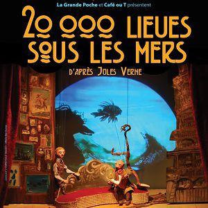 20 000 lieues sous les mers @ Théâtre le Ranelagh - Paris