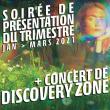 Concert PRESENTATION TRIMESTRE 1-21 à Ris Orangis @ Le Plan Grande Salle - Billets & Places