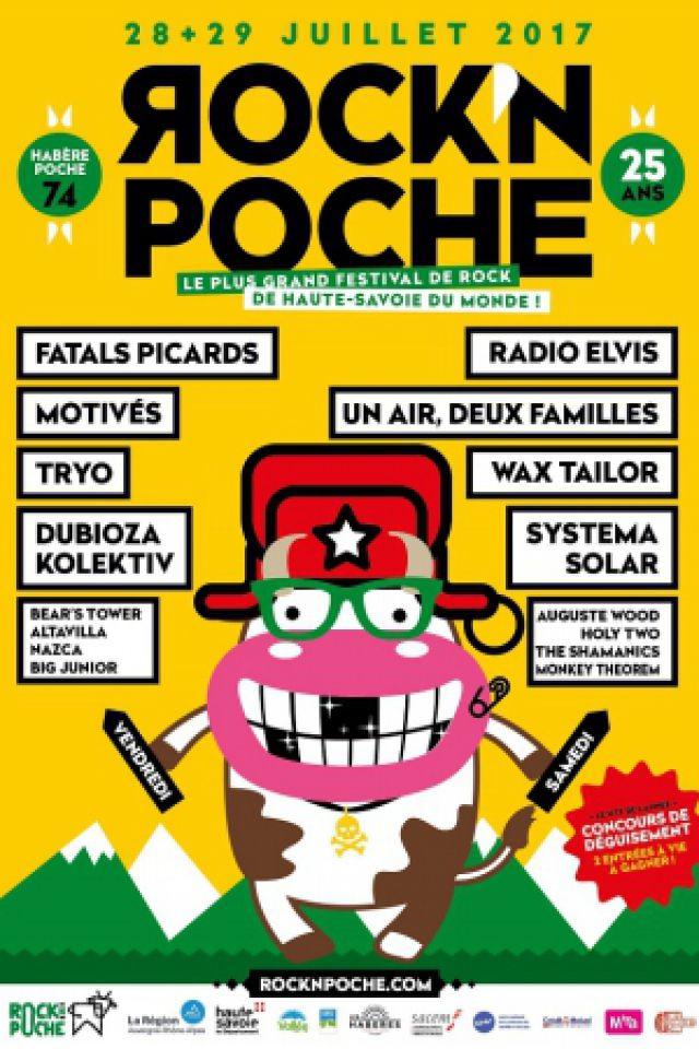 Billets Rock'n Poche Festival - Fatals Picards, Motivés, Tryo... - La Frastaz