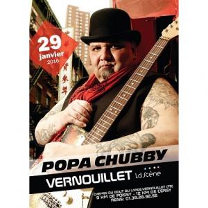 Concert POPA CHUBBY à Vernouillet @ La Scène Vernouillet - Billets & Places