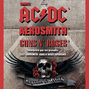 Legends Of Rock Ac/Dc, Guns N' Roses, Aerosmith