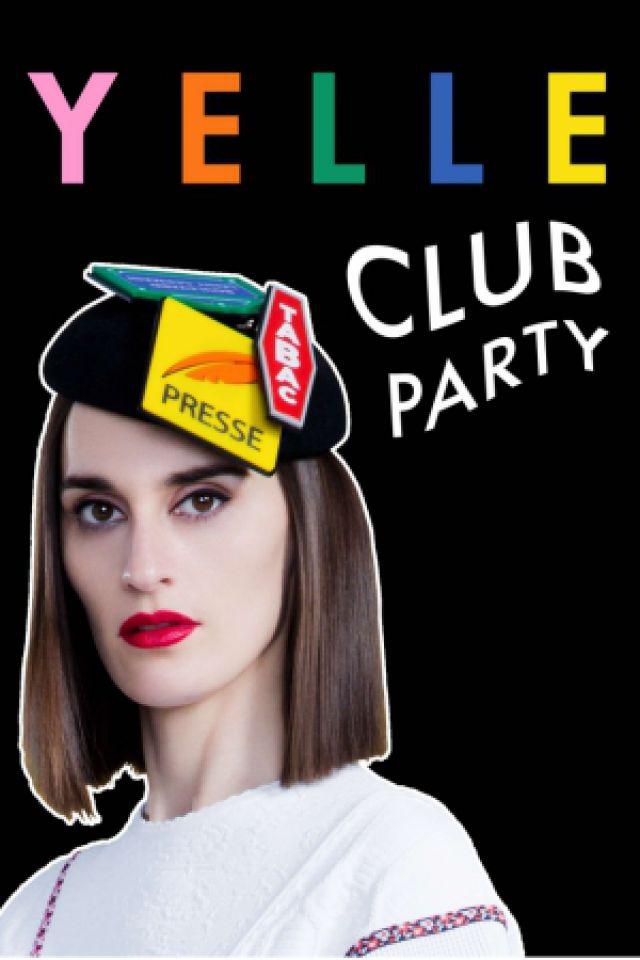 YELLE CLUB PARTY - 17 JANVIER @ Badaboum - PARIS