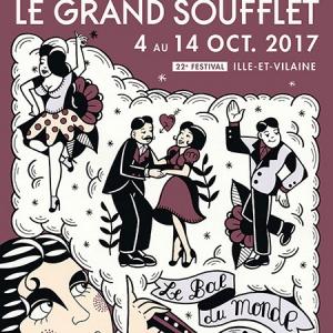 FESTIVAL LE GRAND SOUFFLET - SANGUE @ Chapiteau Grand Soufflet - Rennes