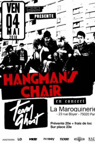 Concert Hangman's Chair + Team Ghost à PARIS @ La Maroquinerie - Billets & Places