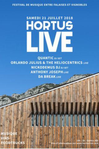 HORTUS LIVE FESTIVAL à VALFLAUNÈS @ Domaine de l'Hortus - Billets & Places
