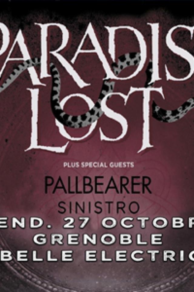 Paradise Lost + Pallbearer + Sinistro @ La Belle Electrique - GRENOBLE