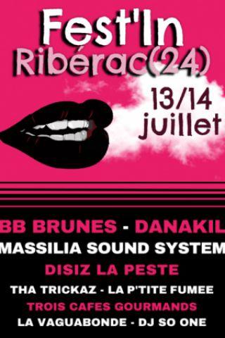 Festival FEST'IN - MASSILIA SOUND SYSTEM / DANAKIL / LA VAGUABONDE... à Ribérac @ Parc des Beauvières - Billets & Places