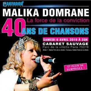 Malika Domrane - 40 Ans De Chansons