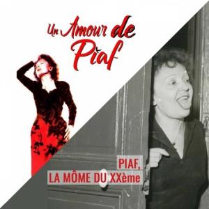 Billets BILLET COUPLE - UN AMOUR DE PIAF + LA MÔME DU XXème - Salle de L'Etoile + Fondation M.Rivera-Ortiz
