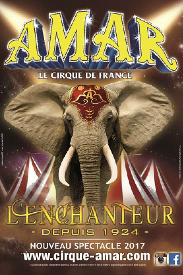 CIRQUE AMAR L'ENCHANTEUR CHERBOURG @ Place Jacques Demy - Cherbourg