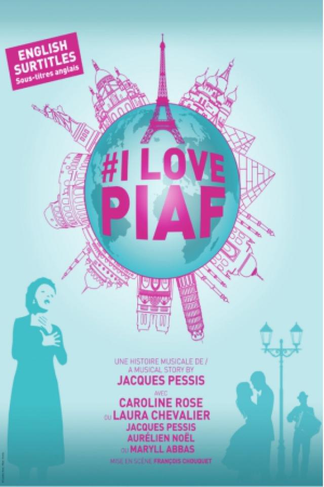 I LOVE PIAF @ LE K - KABARET CHAMPAGNE MUSIC HALL - TINQUEUX