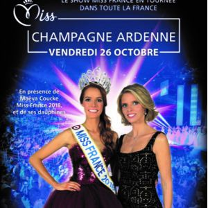 ELECTION MISS CHAMPAGNE ARDENNE @ LE K - KABARET CHAMPAGNE MUSIC HALL - TINQUEUX