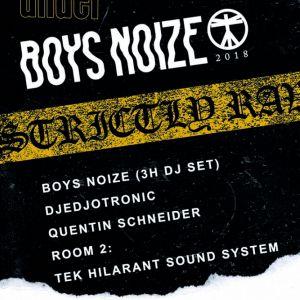 UNDER. Boys Noize, Djedjotronic, Q. Schneider, Tek Hilarant @ WAREHOUSE - NANTES