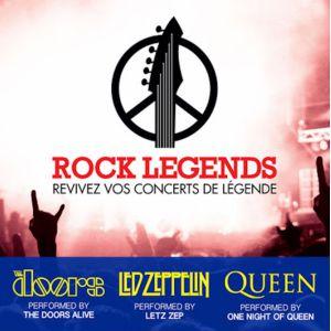 ROCK LEGENDS @ Cité des Congrès - Grand Auditorium - Nantes