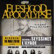 FLESHGOD APOCALYPSE / TITANS FALL HARDER