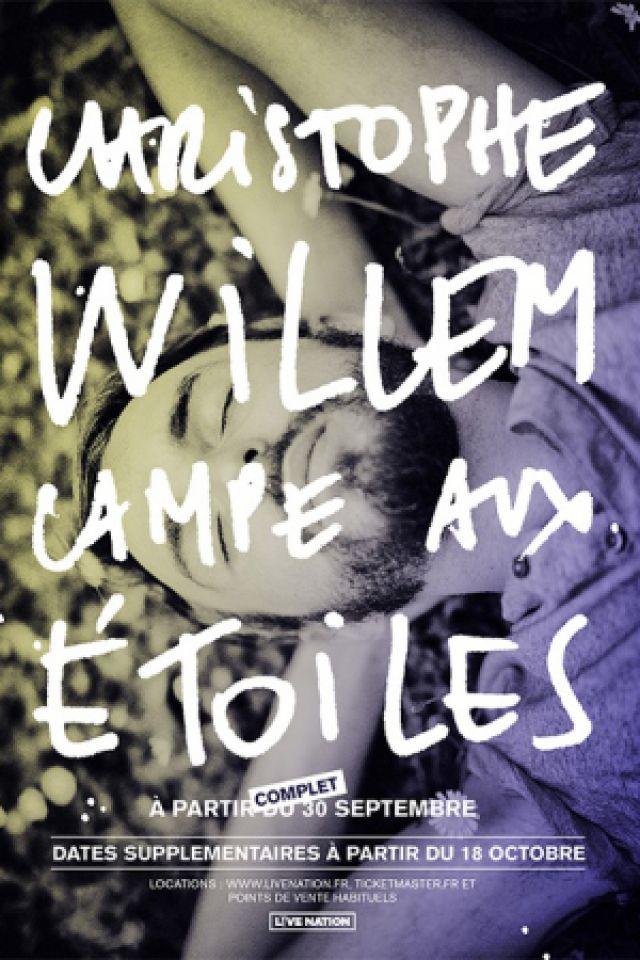 CHRISTOPHE WILLEM @ THEATRE LES ETOILES - Paris