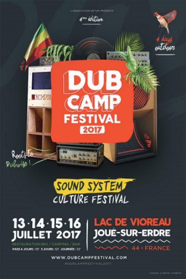 DUB CAMP FESTIVAL 2017 - PASS 4 JOURS @ Lac de Vioreau - JOUÉ SUR ERDRE