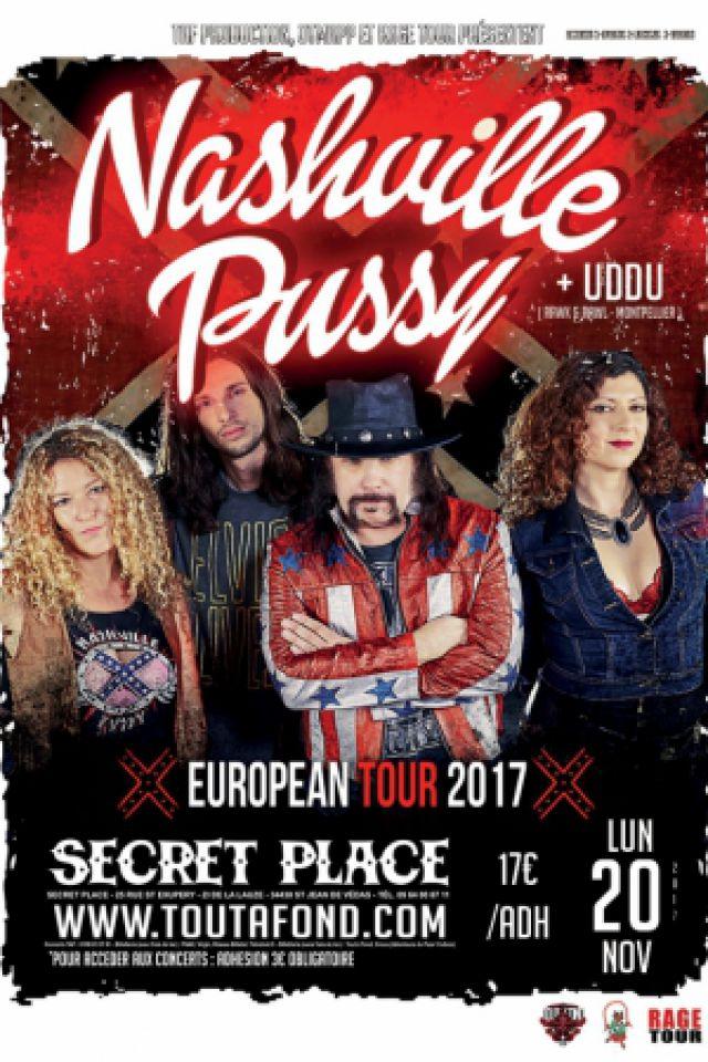 NASHVILLE PUSSY @ SECRET PLACE - SAINT JEAN DE VÉDAS