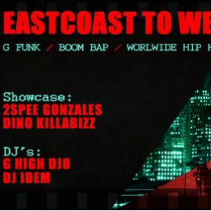 Eastcoast to Westcoast #3 / G High DJo feat Dj IDem, Dino, 2Spee @ La Marbrerie - MONTREUIL