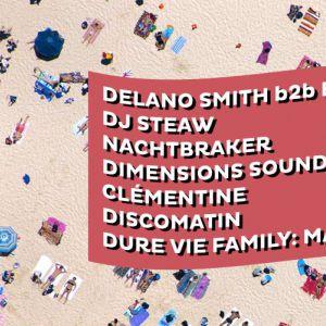 Dure Vie invite Dimensions Festival @ Glazart - PARIS 19