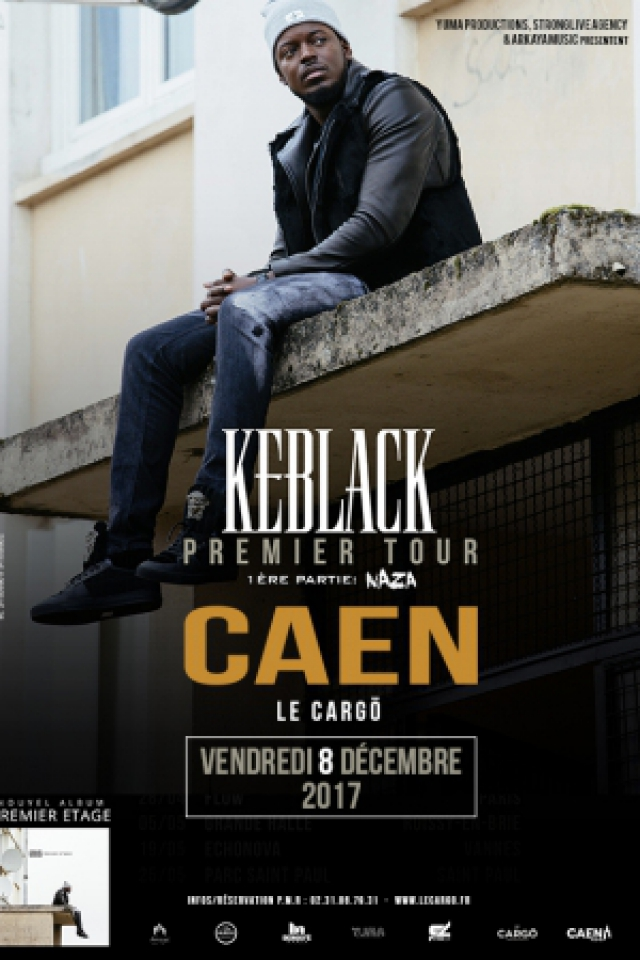 KEBLACK @ LE CARGO - Caen
