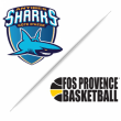 Match ANTIBES SHARKS / FOS PROVENCE BASKET