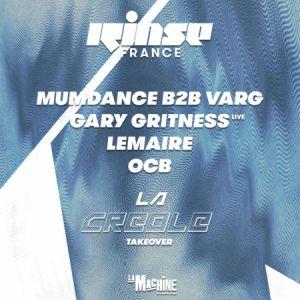 Rinse France @ La Machine du Moulin Rouge - Paris