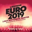 LIEBHERR Euro 2019 - Pack Equipes de France à REZÉ @ Salle sportive métropolitaine de Rezé - Billets & Places