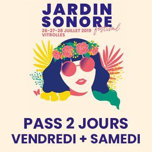 Festival Jardin Sonore 2019 - Pass 2 Jours : Vendredi + Samedi